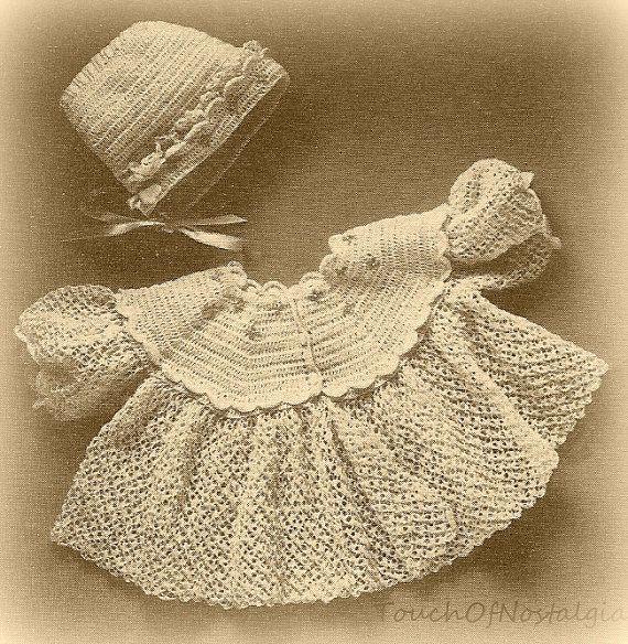 Imgenes De Free Vintage Crochet Baby Layette Patterns