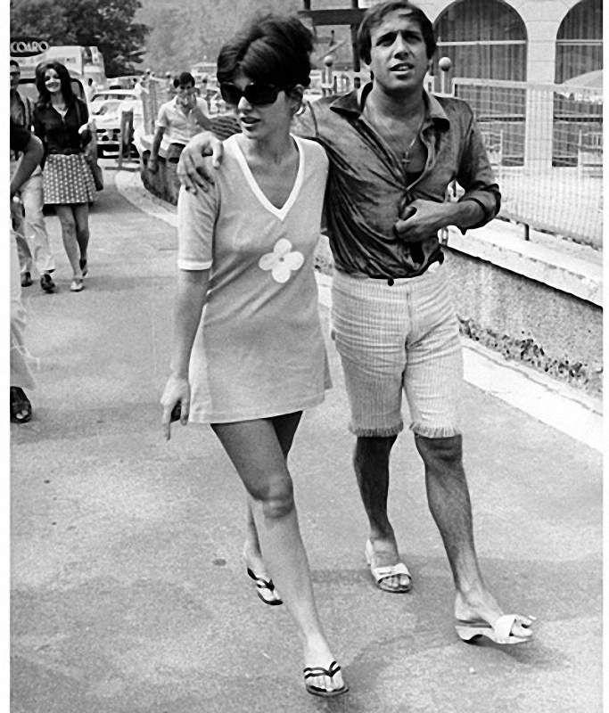 Adriano Celentano Claudia Mori They Met Pinterest