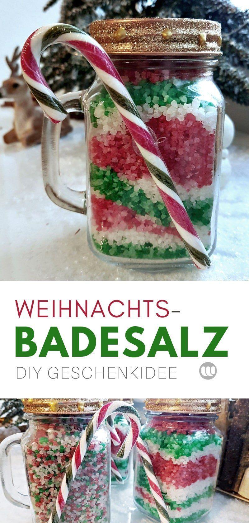 Photo of Badesalz selber machen: Last-Minute Weihnachtsgeschenk