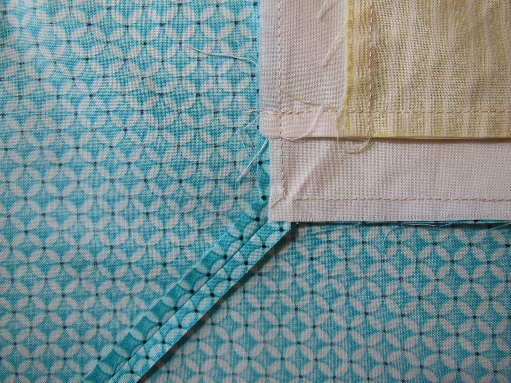 Easy* Mitered Corner for quilt borders, Y seam piecing and more ... : mitered quilt borders easy - Adamdwight.com