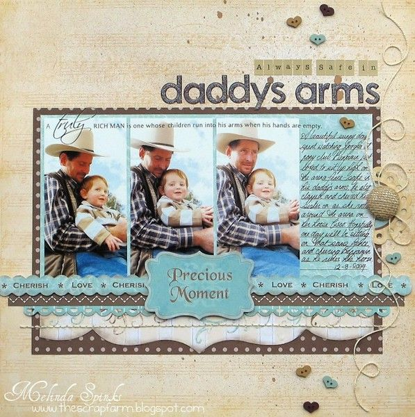 Daddy's Arms *My Little Shoexbox* - Two Peas in a Bucket
