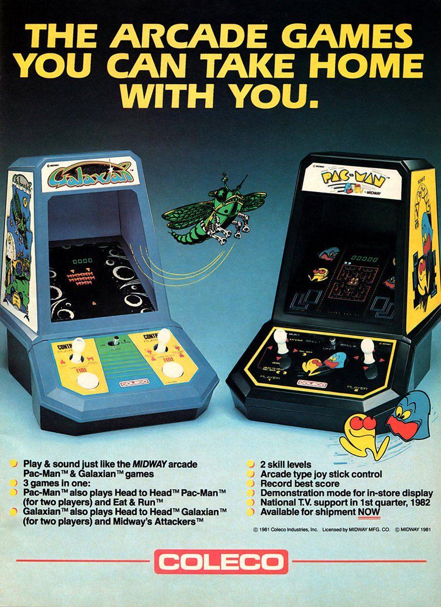 Vintage Ads (VintageAdz) Twitter Mini arcade, Arcade