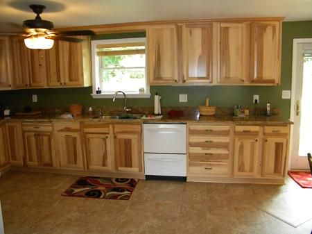 Kitchen Cabinets From Lowes Hickory My New Kitchen Pinterest