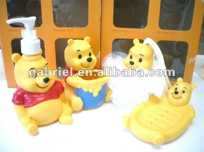 Winnie The Pooh Kids Bathroom Accessories Sets With Images