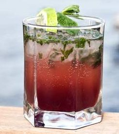 July 2015 Recipe Winner Huckleberry Mojito   KrisCo Liquor