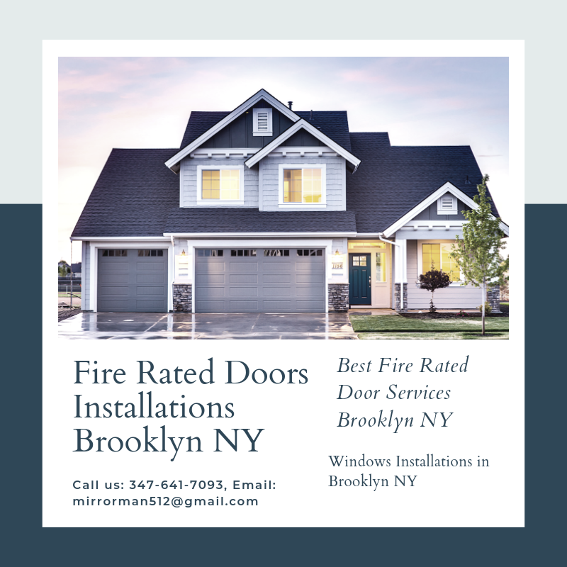 Fire Rated Doors Installations In Brooklyn Ny Real Estate Estate Planning Home Buying