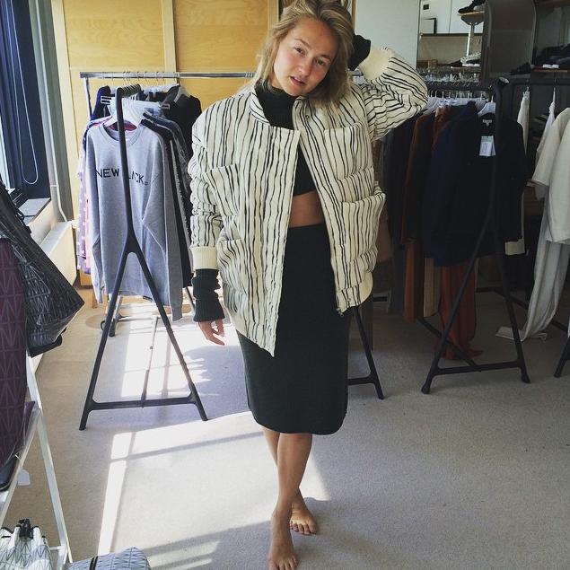 #Actress #CarolienSpoor wearing #CarinWester