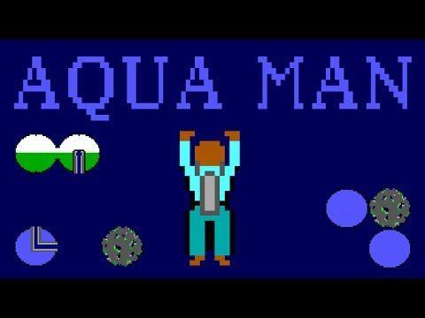 LGR Aquaman DOS PC Game Review