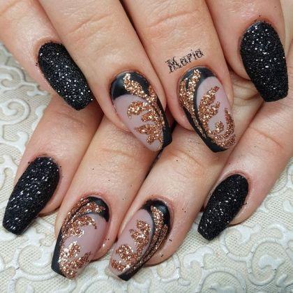 35 Creative Ways Coffin Nails Designs Kylie Jenner Matte Sparkle 16