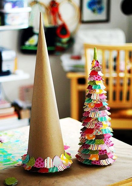 Homemade christmas tree christmas crafts paper christmas homemade christmas tree christmas crafts paper christmas crafts loveitsomuch solutioingenieria Images
