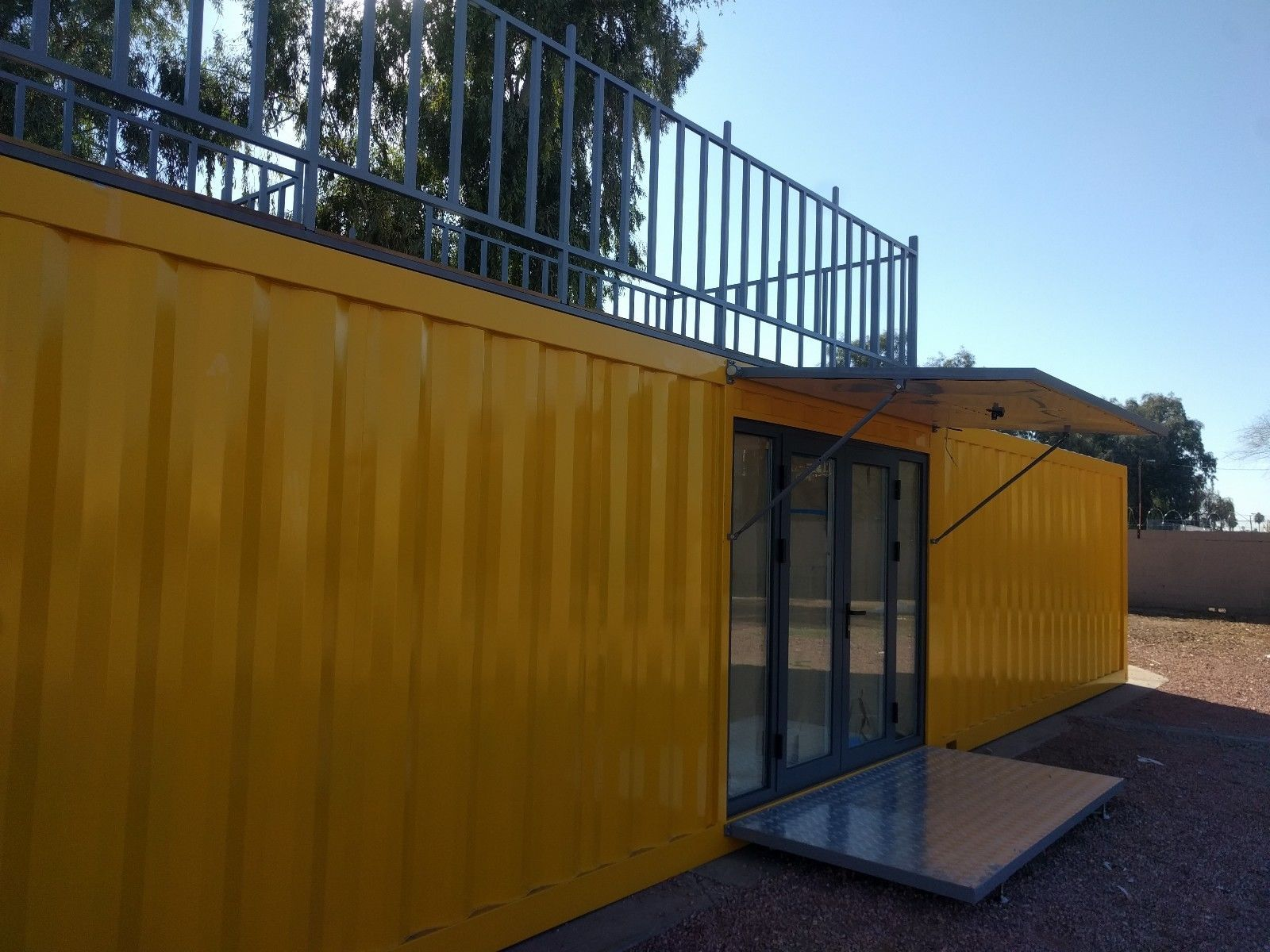 40 Shipping Containers For Sale Ebay >> 25 0000 40 Custom Built Shipping Container Home In Phoenix