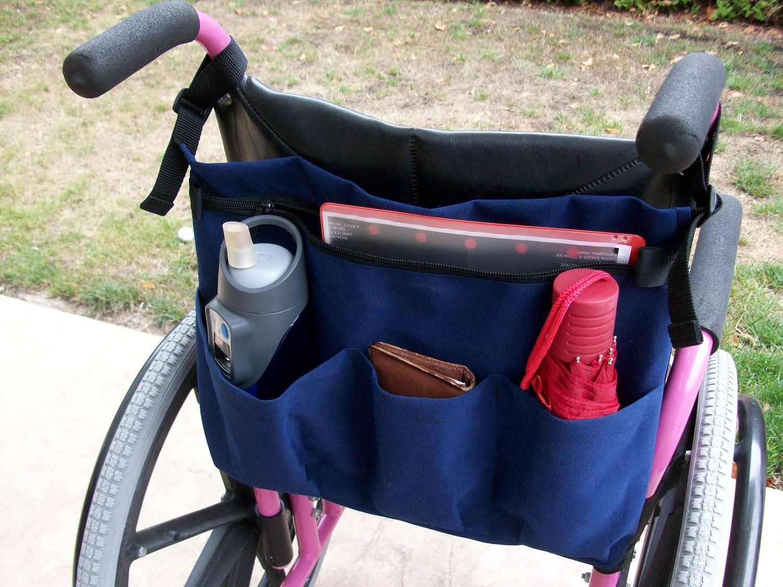 Manual Wheelchair Back Bag Bags Wheelchair Accessories