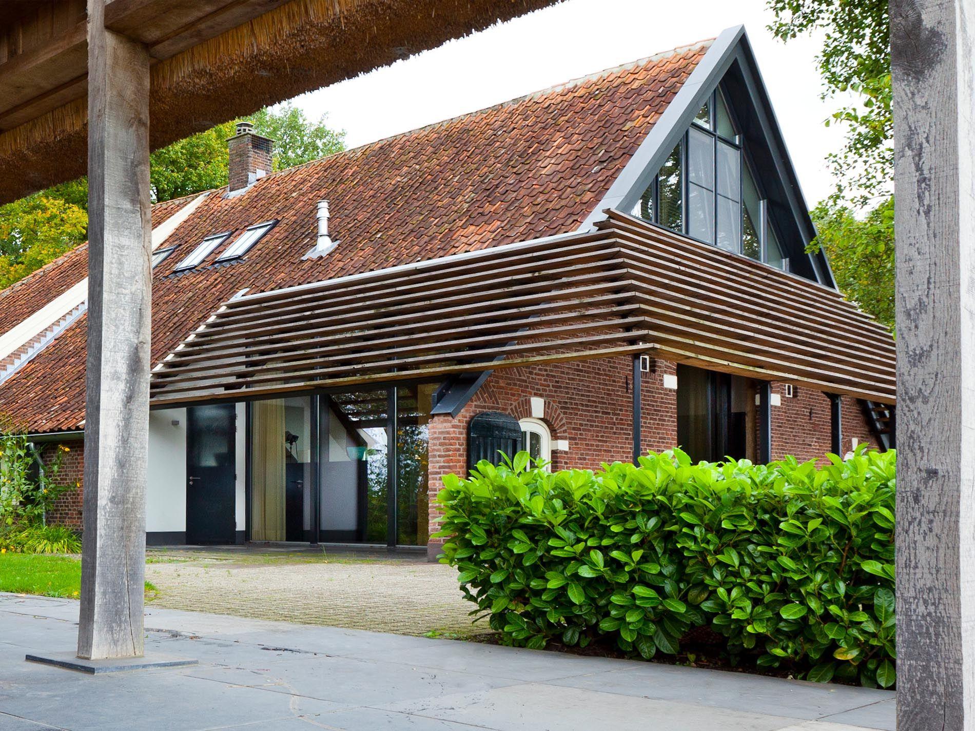 Maas architecten verbouwing boerderij tot woonhuis for Boerderij interieur