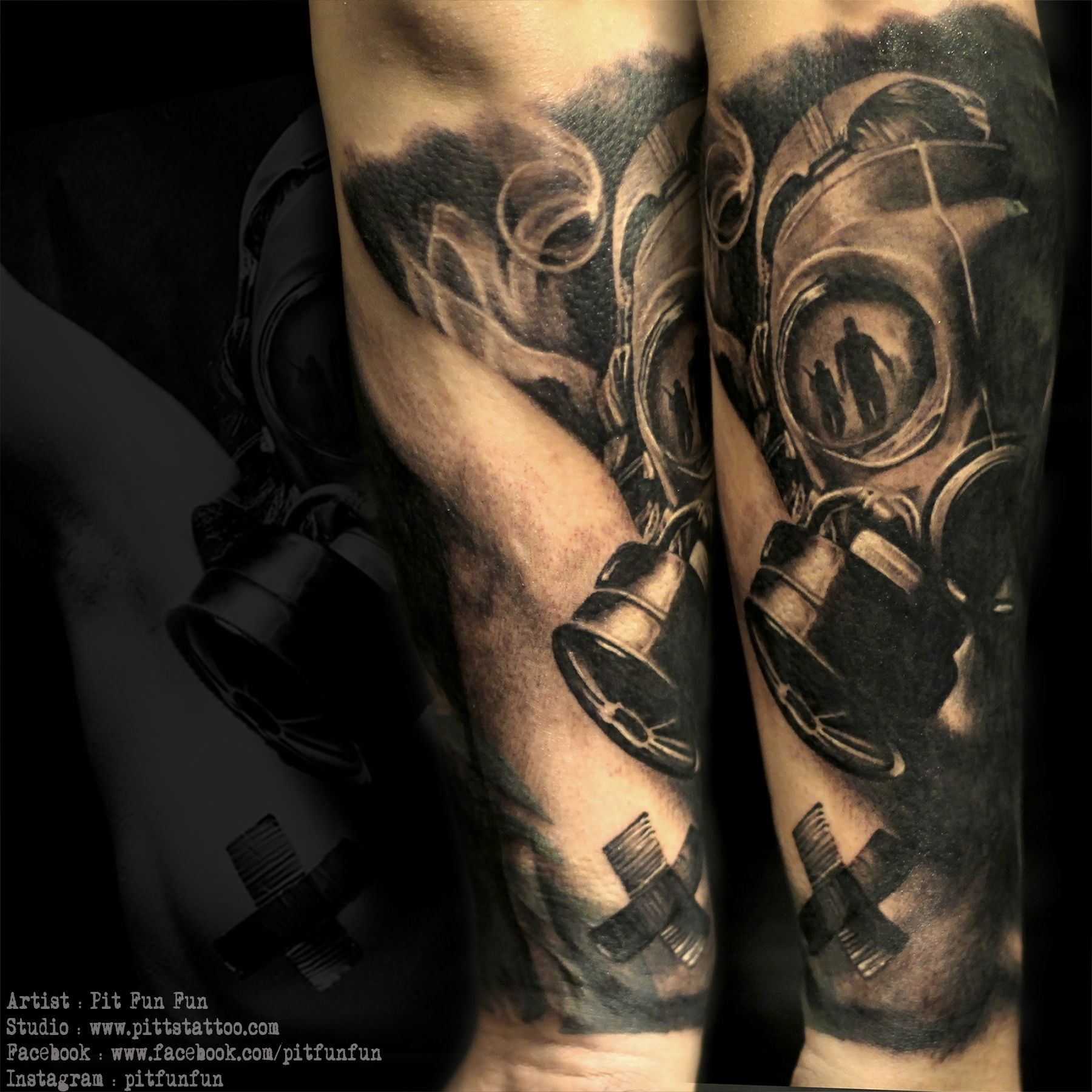 44 best gas mask tattoos collection - Gas Mask Tattoo Cover Up Www Pittstattoo Com Facebook Fun Fun Official Page