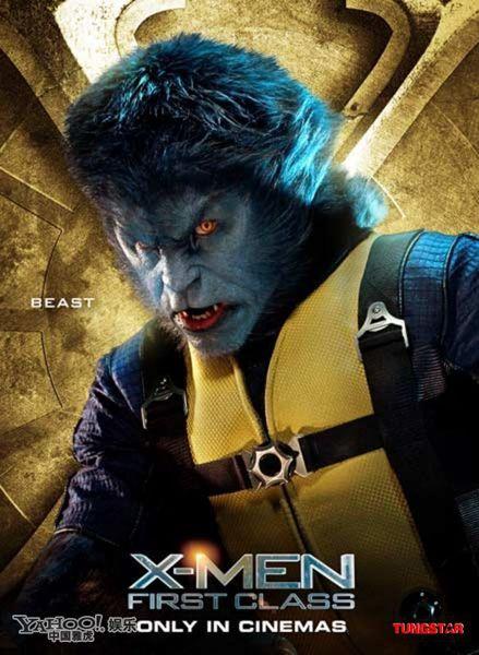 Hank Mccoy Beast X Men Class Poster Beast Xmen
