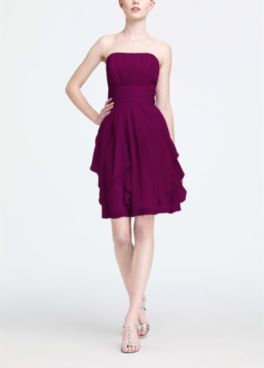 Sangria Bridesmaid Dresses By Color David S Bridal