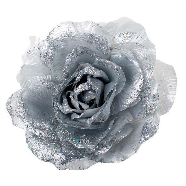 A few silver silk flowers in a white wedding bouquet pastry love a few silver silk flowers in a white wedding bouquet mightylinksfo