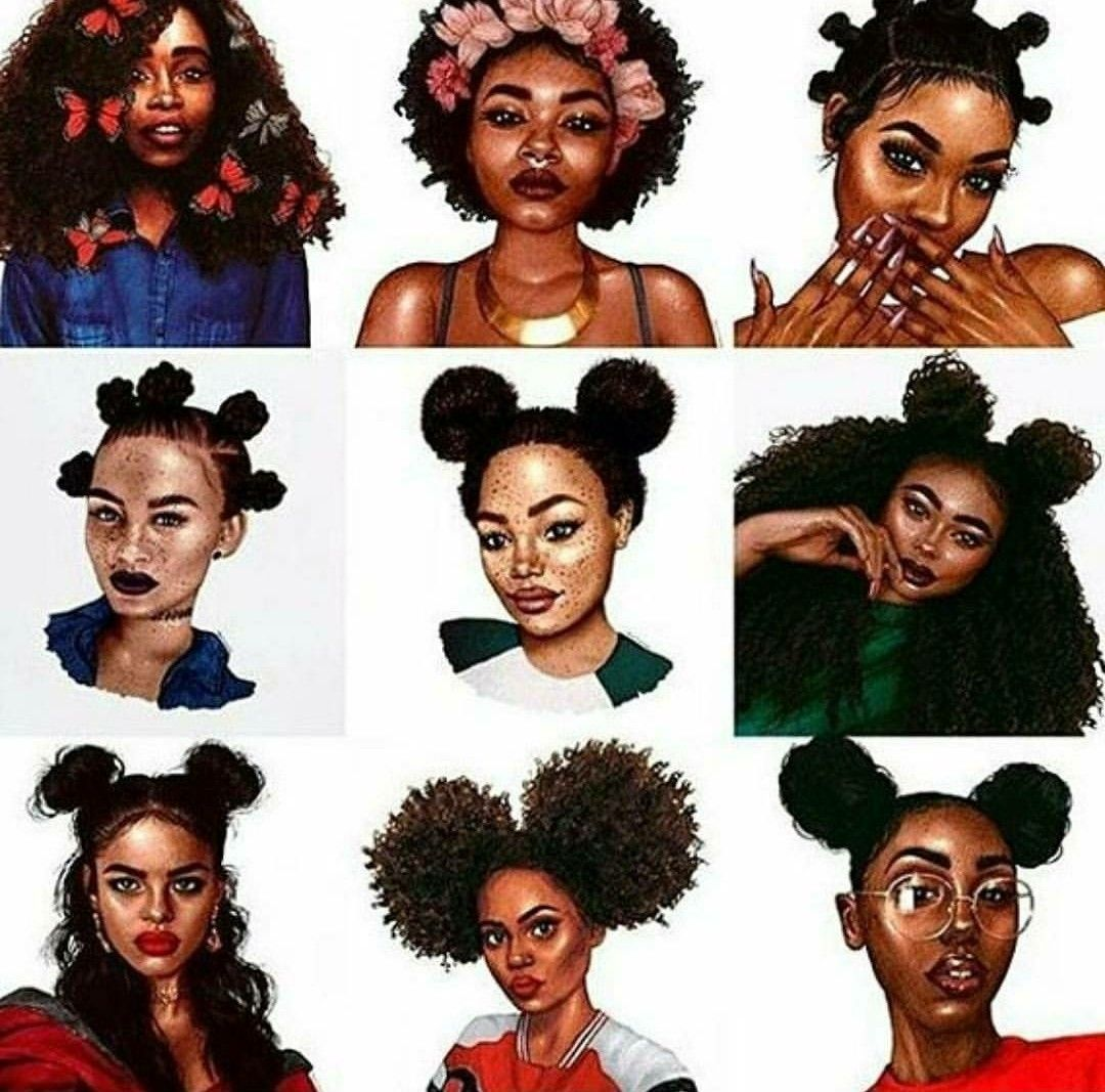 Black Girl Magic Pinterest Twingemini24 Blackgirlmagic Hairstyles Blackgirlcartoons Hoodart Black Girl Cartoon Natural Hair Styles Black Art Pictures