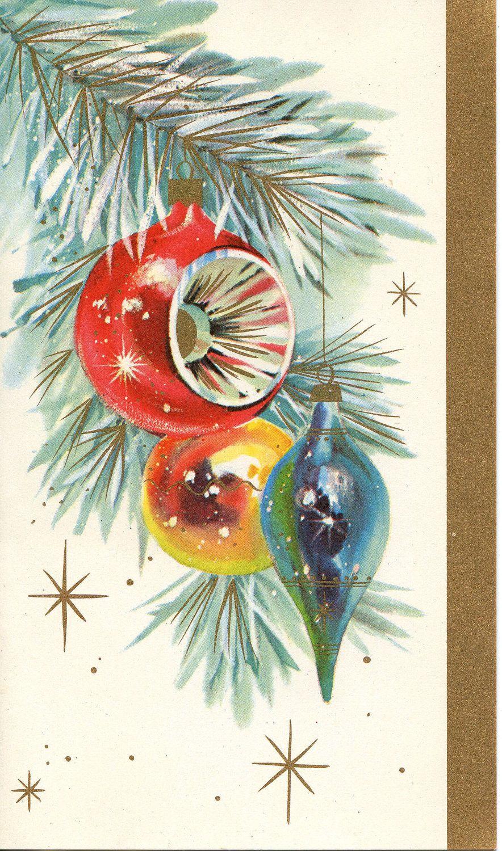 Merry Christmas! - | Christmas Cards VINTAGE | Vintage christmas ...