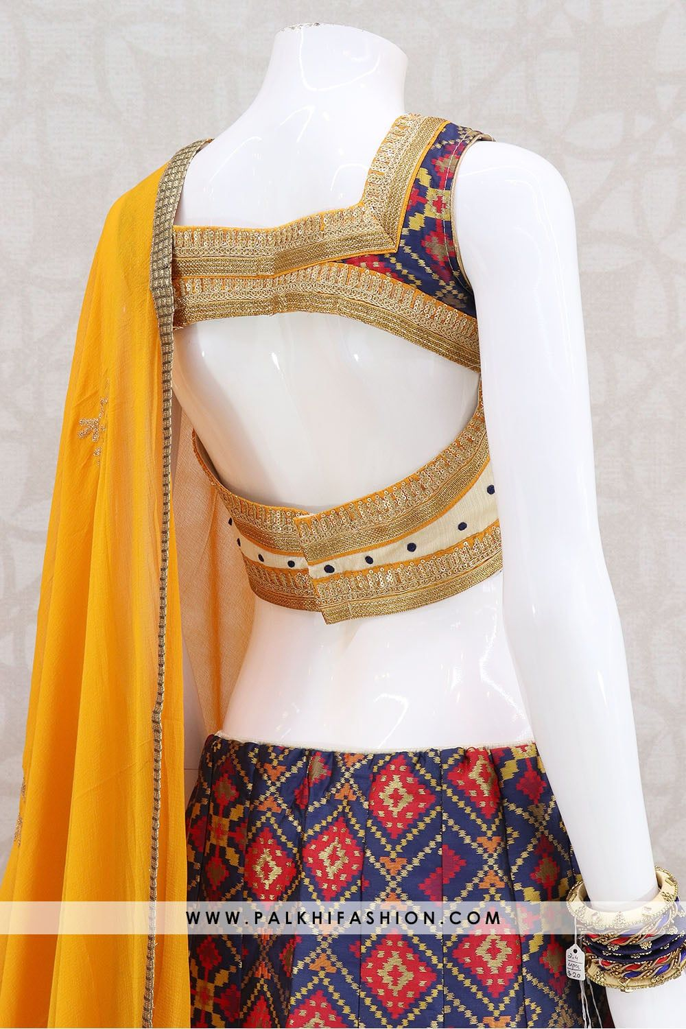 69d0bc556d Beautiful Multi Color Silk Chaniya Choli Set in 2019 | Latest Indian ...