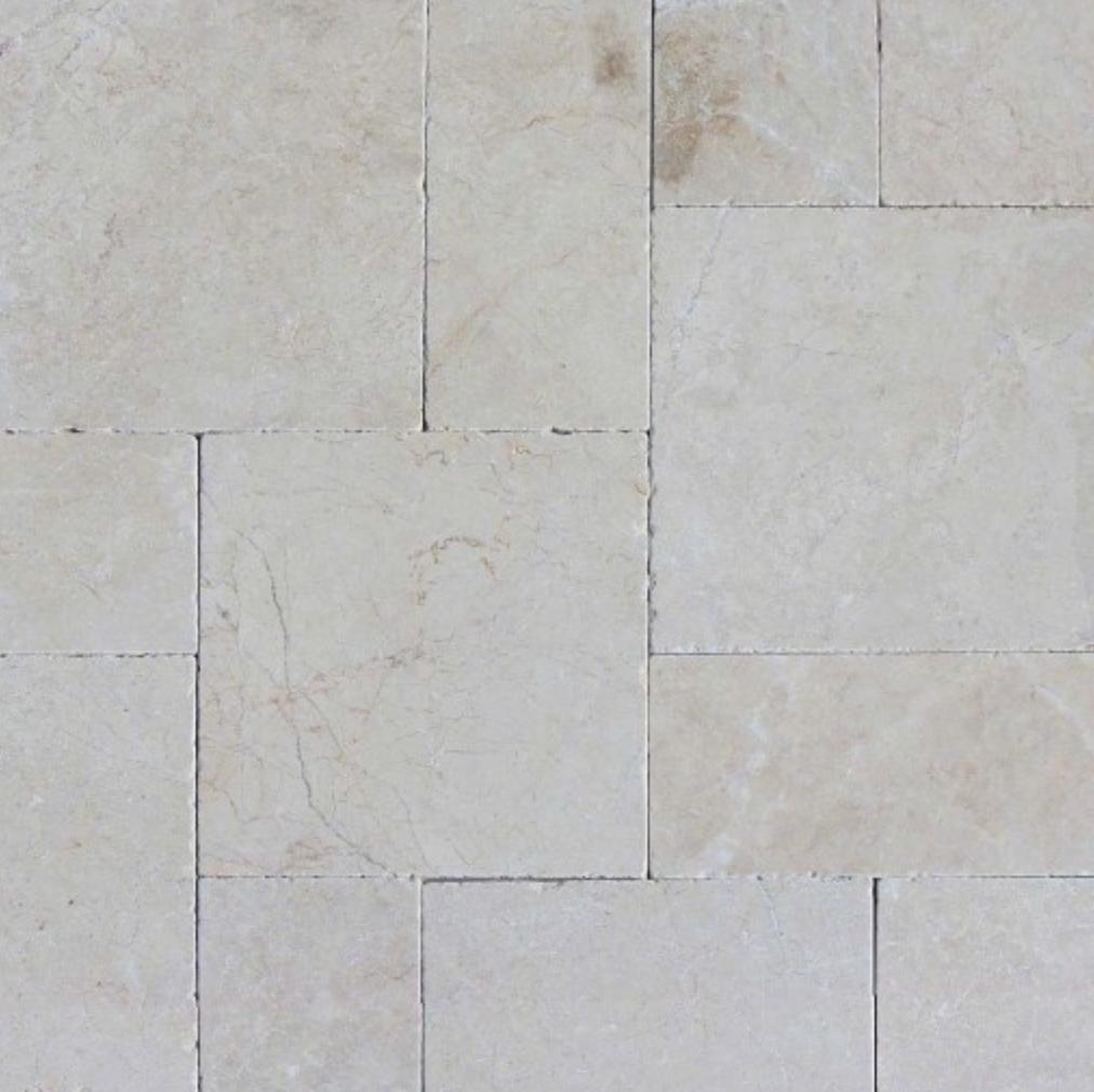 White Pearl Travertine Tile Apulien