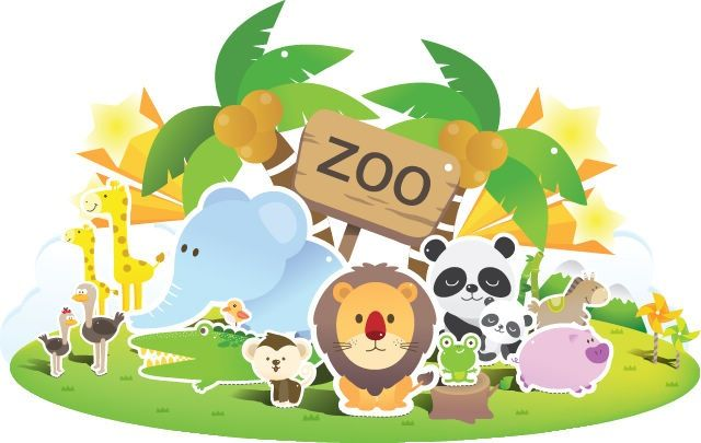 cartoon zoo - Google Search