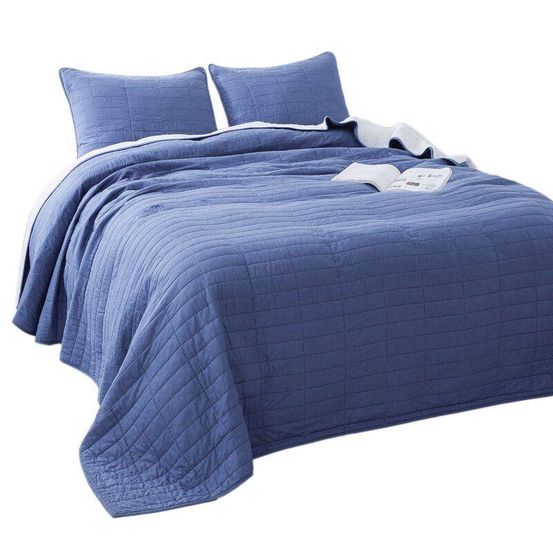 Stribling 3 Piece Reversible Quilt Set Quilt Sets Reversible Quilt Bedding Sets