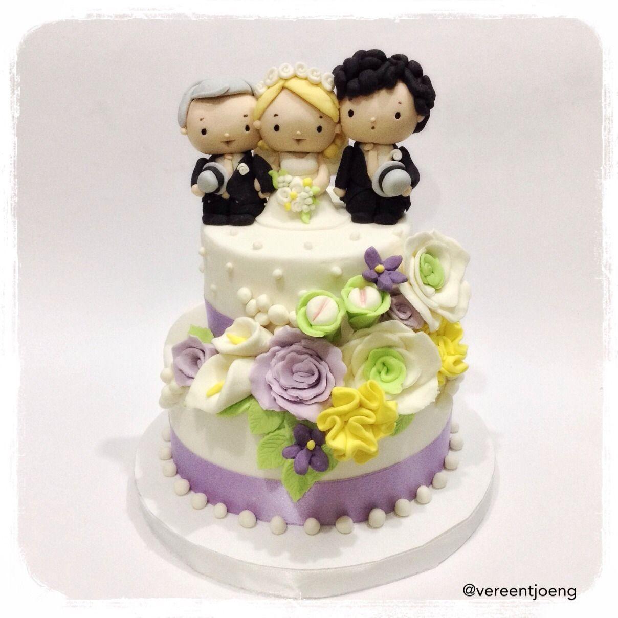 Cumbercupcakes — The Wedding Cake from \
