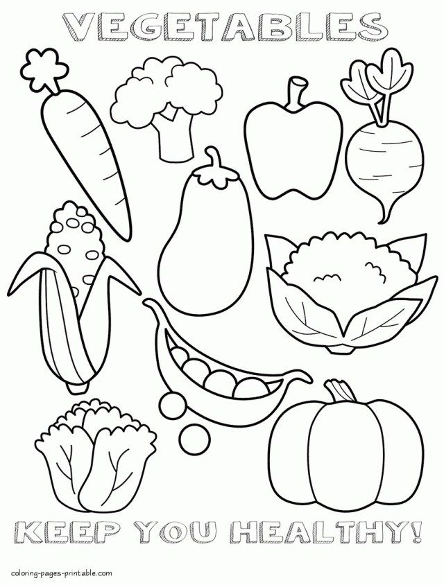 27+ Inspiration Picture of Cute Food Coloring Pages