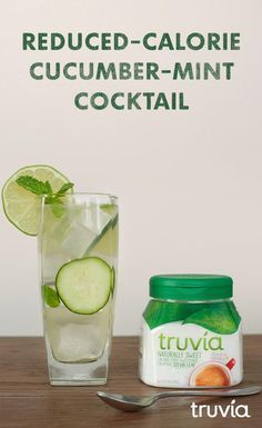 Toast to your independence from calories with a refreshing cocktail. Click for t...  - Drinks -