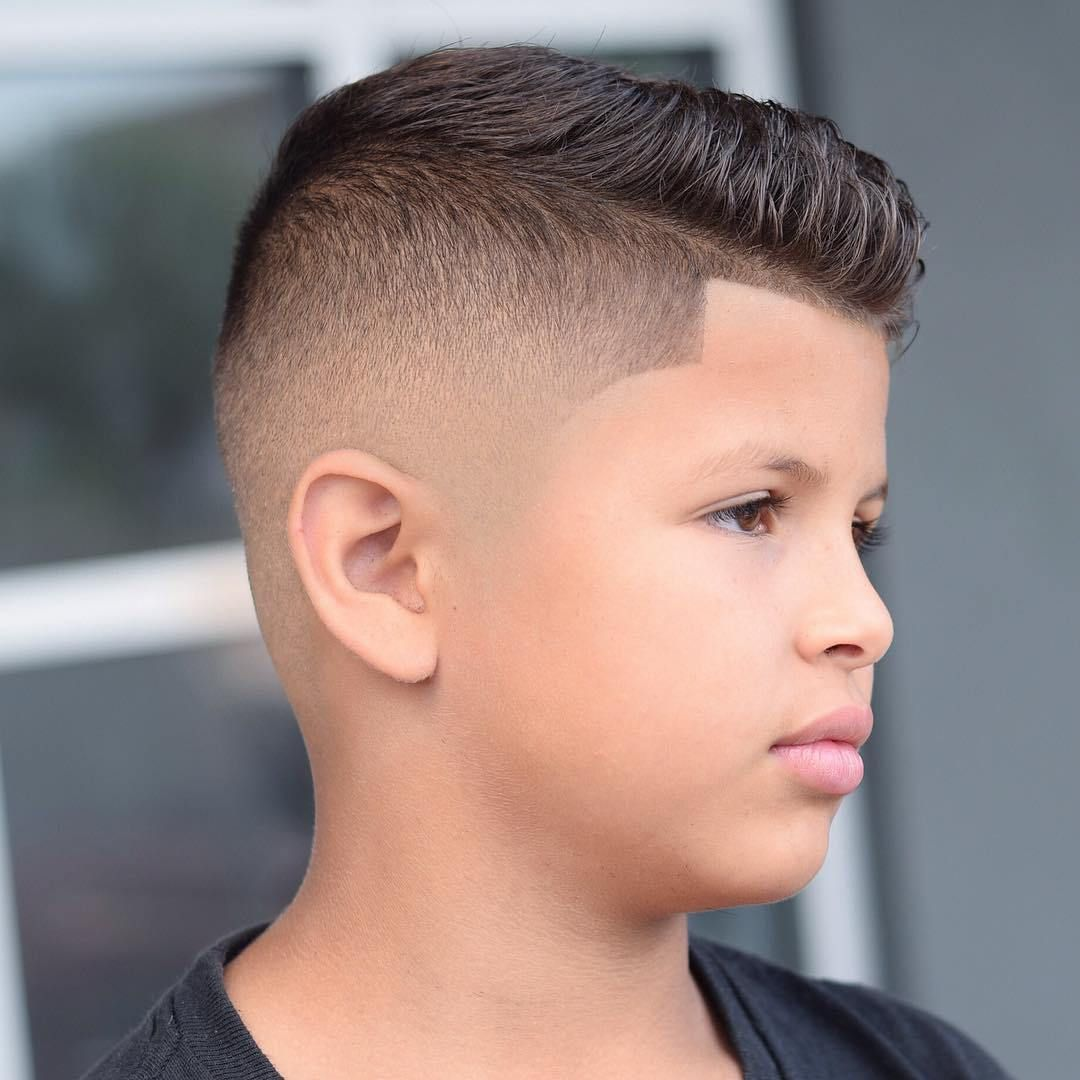 Mid Fade Men Haircuts With Round Faces Mid Fade Hair Styles