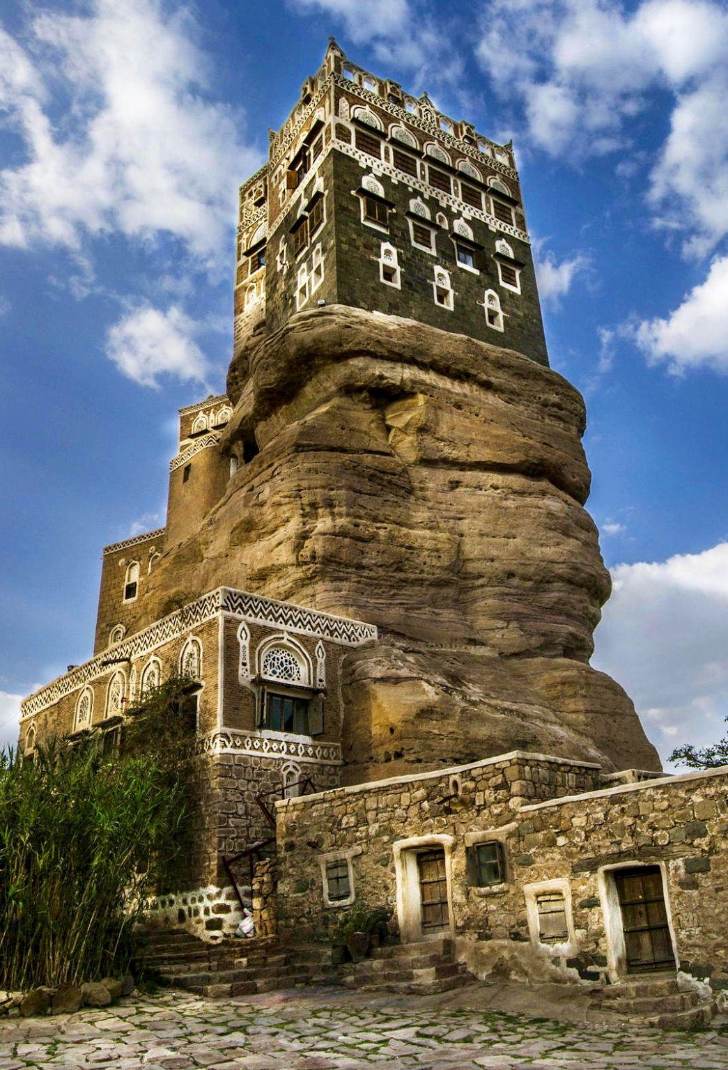 Dar al hajar by suzana zuhairi (Sana'a, Yemen)