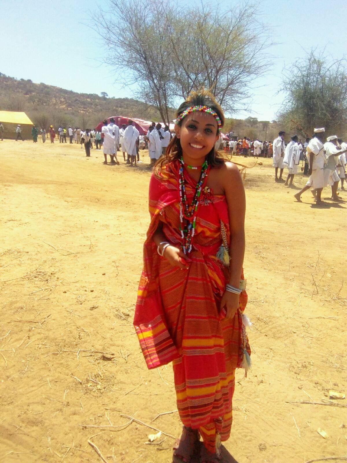 Beautiful Oromo girl with Borana dress | Places to visit