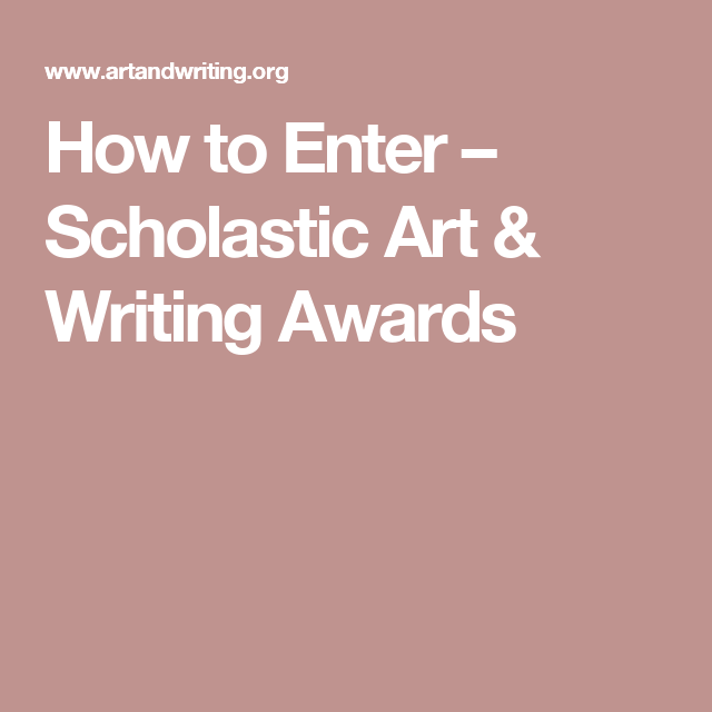 scholastic art and writing contest 2019