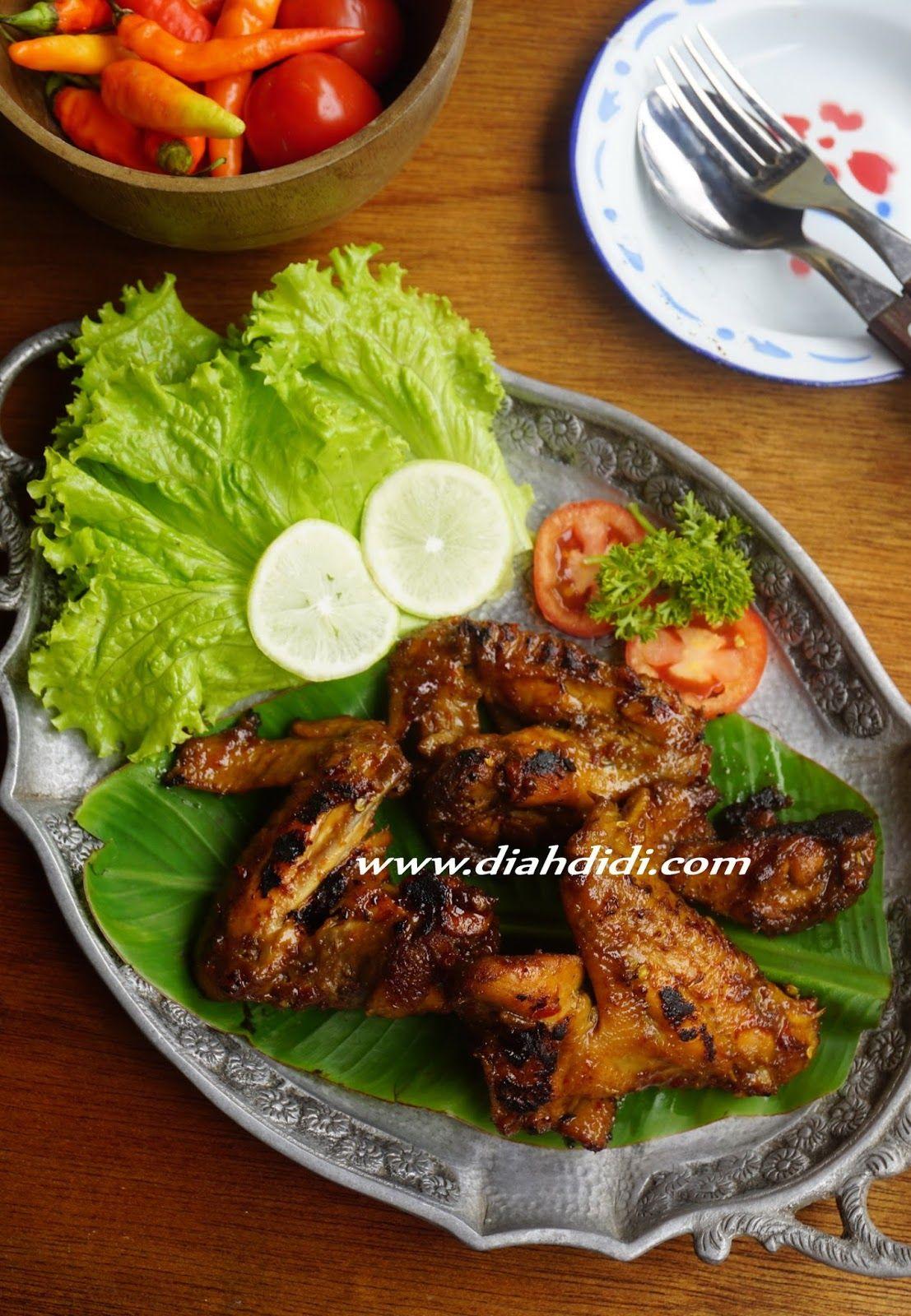 Blog Diah Didi Berisi Resep Masakan Praktis Yang Mudah Dipraktekkan Di Rumah Sayap Ayam Resep Masakan Resep Makanan