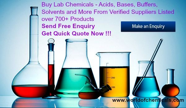 Buy Lab Chemicals - Acids, Bases, Solvents, Buffers, Reagents and