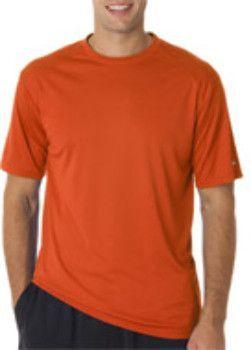 Badger Adult B-Core Short-Sleeve Performance Tee - Burnt Orange (4XL)
