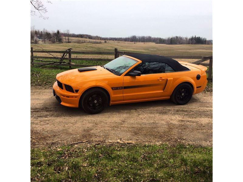 """Car - 2008 Ford Mustang GT CS in BRAMPTON, ON  $25,000"""