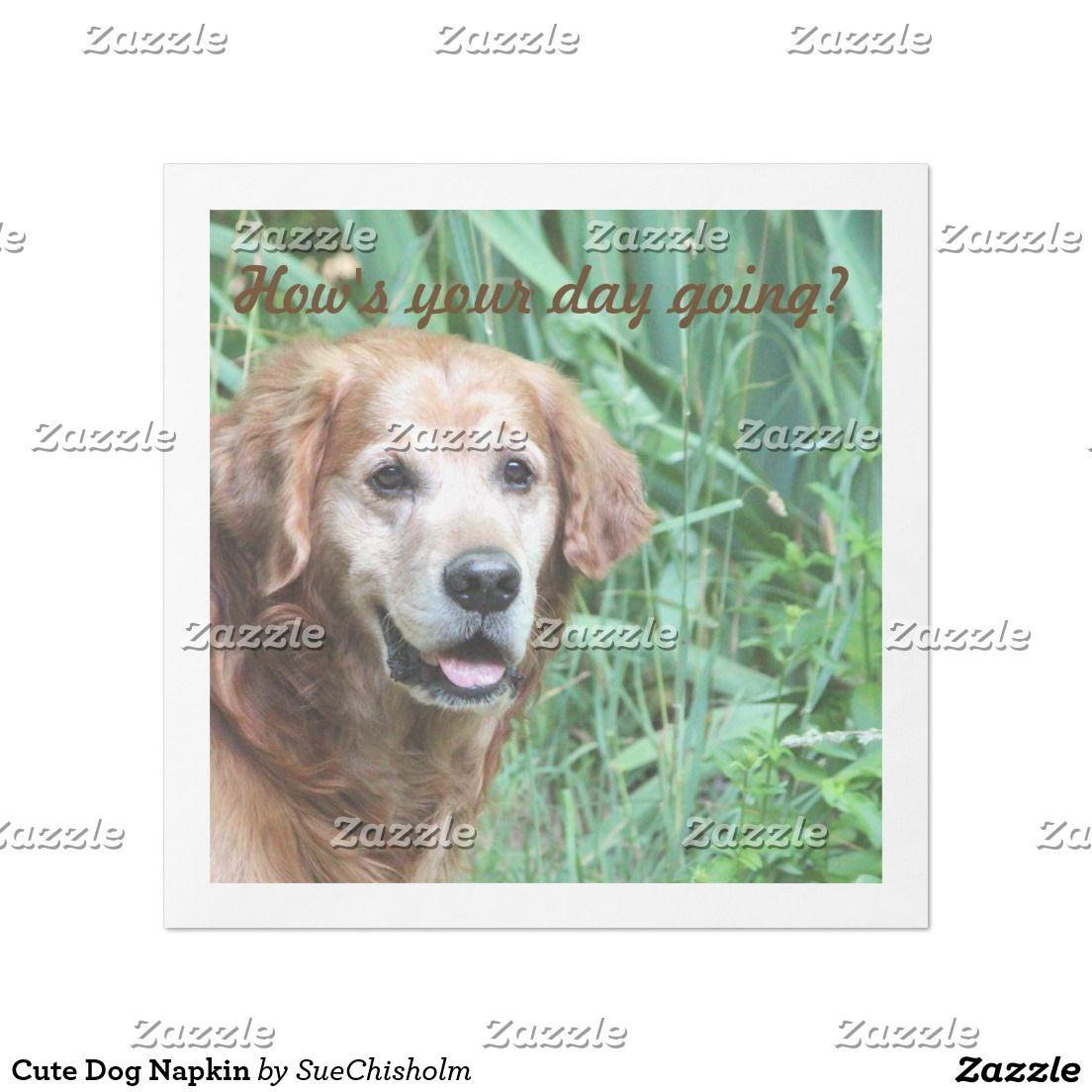 Cute Dog Napkin Cute dogs, Dogs, Cute