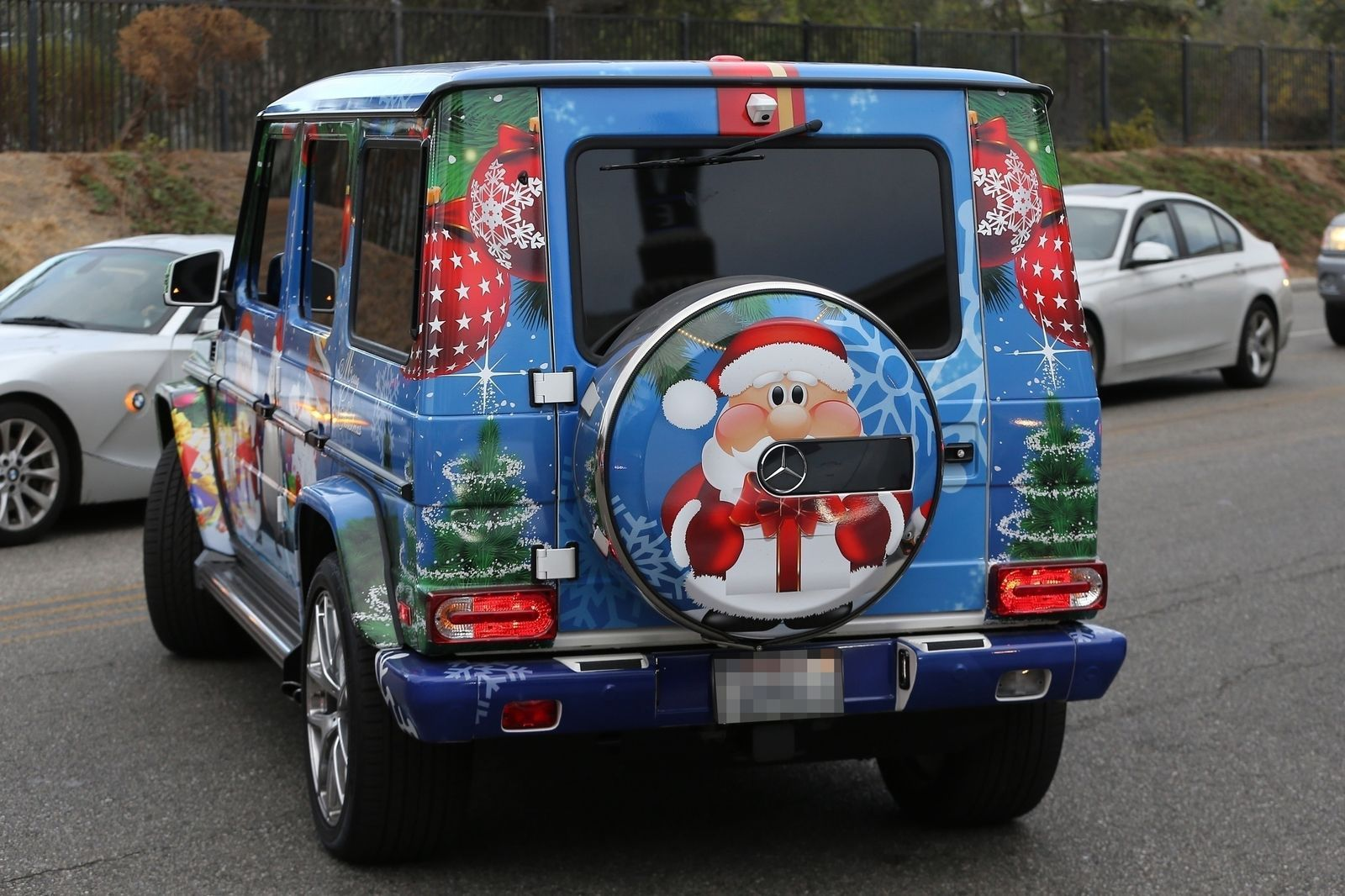 All I Want For Christmas Is Justin Bieber S Christmas Car Justin Bieber Christmas Christmas Car Justin Bieber