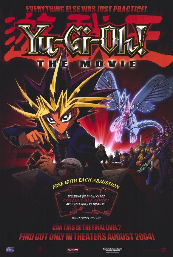 Yu-Gi-Oh The Movie 11x17 Movie Poster 2004