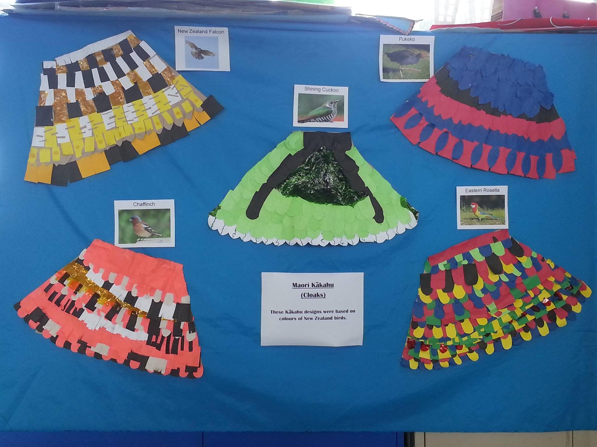 Korowai Cloaks Based On Nz Native Birds