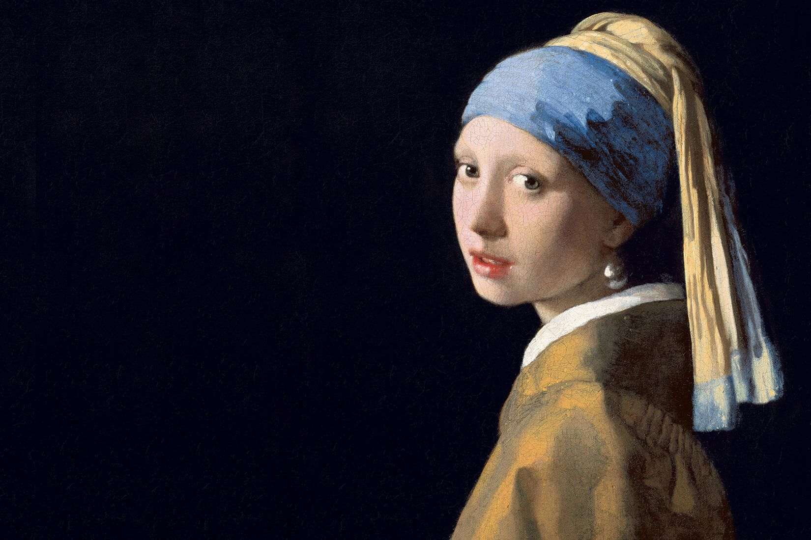 Girl With a Pearl Earring by Vermeer Wall Mural in 2020