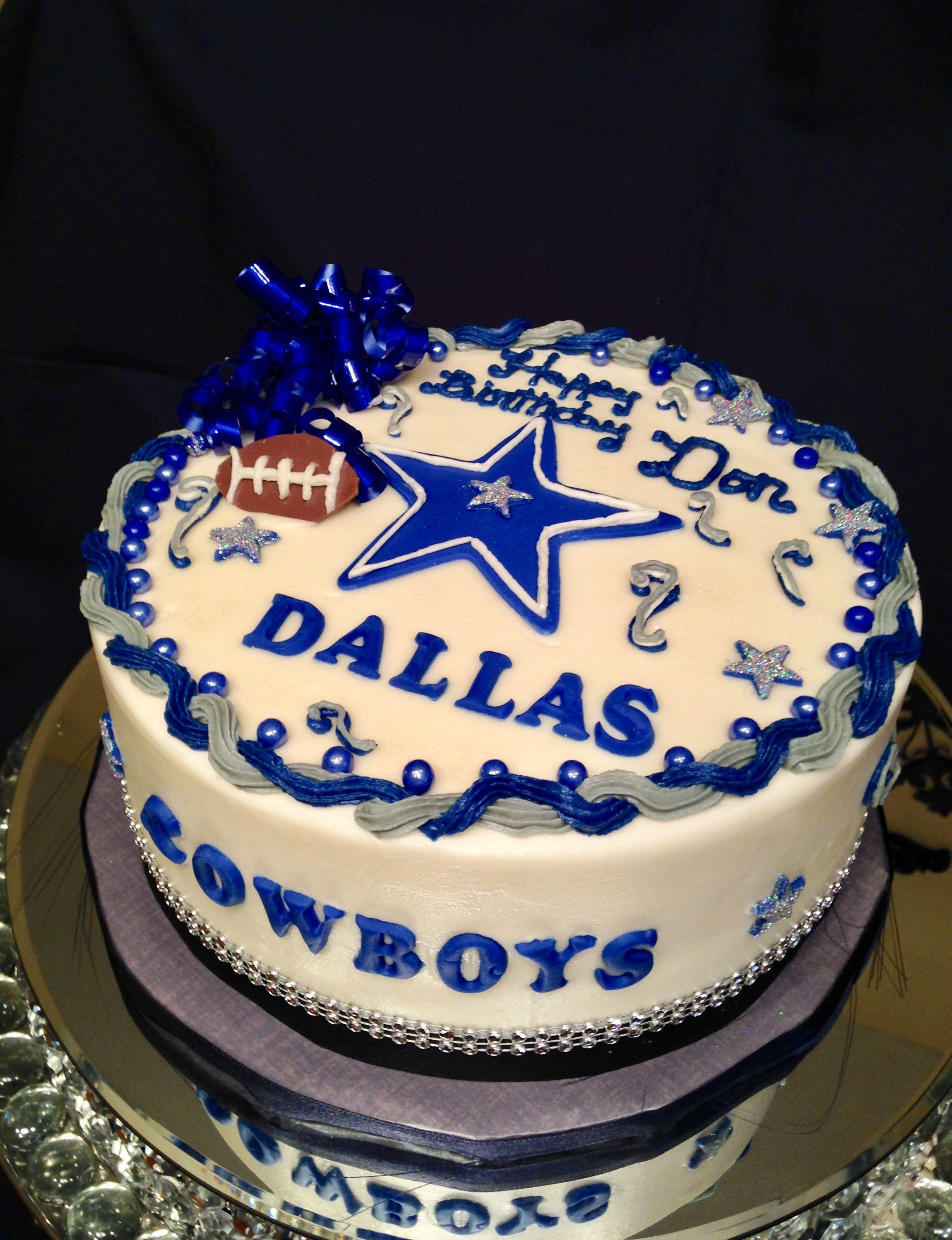 Fabulous Dallas Cowboy Birthday Cake By Marie Cowboy Birthday Cakes Funny Birthday Cards Online Alyptdamsfinfo