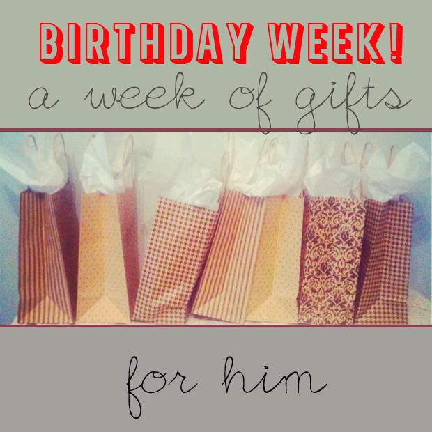 A Week Of Birthday Presents