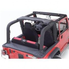 Rampage Roll Bar Cover Full Kit Black Denim Jeep Wrangler Yj Jeep Wrangler Rolling Bar