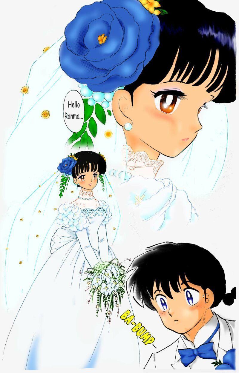 Ranma 1 2 Wedding InuYasha and Ranma 1/2 Ranma and Akane
