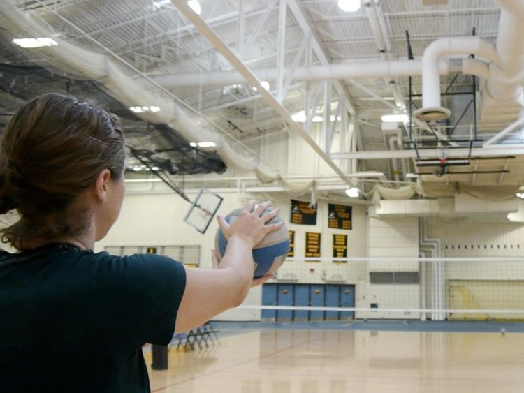 Learn The Different Types Of Serves In Volleyball Volleyball Volleyball Skills Volleyball Serve