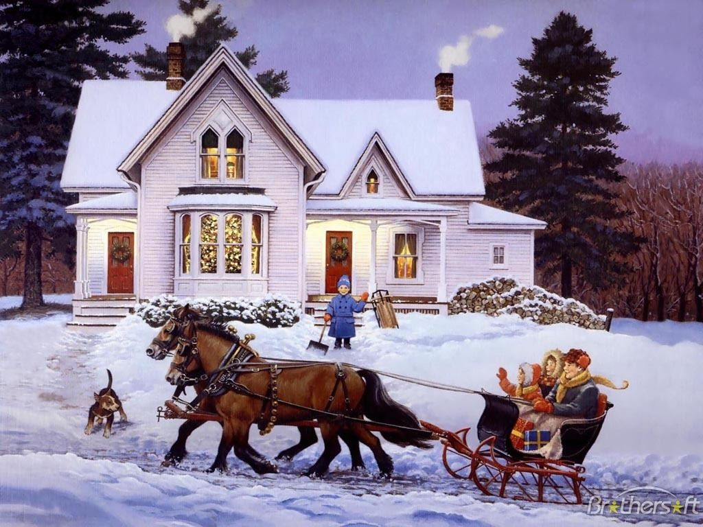 Lindas pinturas de natal christmas eve vintage christmas and winter christmas cards voltagebd Image collections
