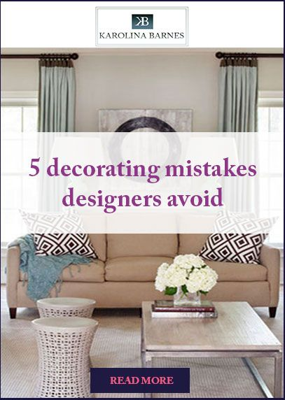 Learn From These Mistakes And Decorate Your Home Like A Pro! #interiors  #livingroom